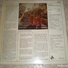 Discos de vinilo: 1982 DISCO LP SRI LANKA. MUSIQUES RITUELLES ET RELIGIEUSES. MUSIDISC EUROPE. FRANCIA. Lote 110733531