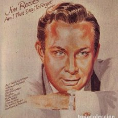 Discos de vinilo: JIM REEVES –LP AM I THAT EASY TO FORGET 1973 RCA. Lote 110736131
