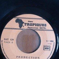 Discos de vinilo: BOYA JOACHIM & POLY-RYTHMO – BON WEEK-END - VINYL, 7, 45 RPM, MONO - BENIN. Lote 110737187