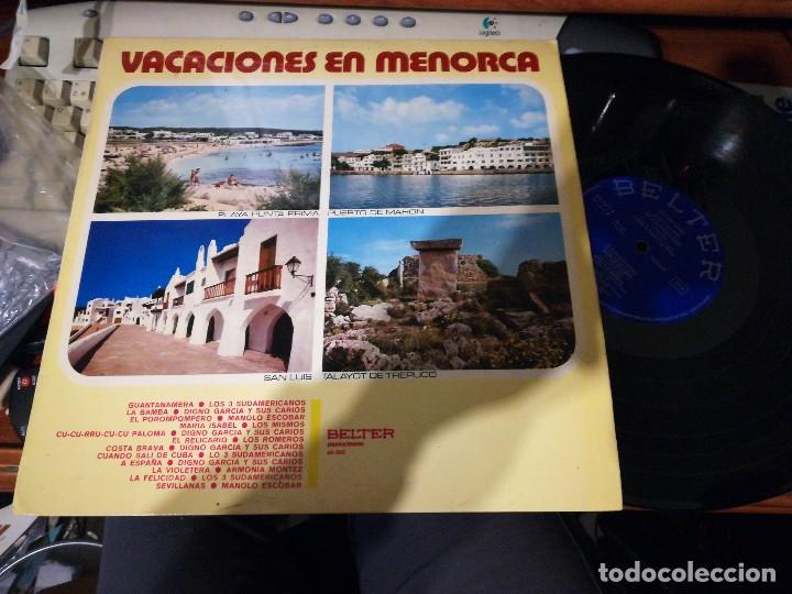 VACACIONES EN MENORCA LP 1971 (Música - Discos - LP Vinilo - Grupos Españoles de los 70 y 80)