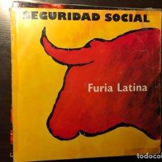 Discos de vinil: FURIA LATONA. SEGURIDAD SOCIAL. Lote 110762747