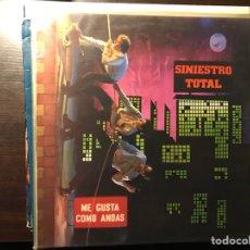 Discos de vinilo: ME GUSTA COMO ANDAS. SINIESTRO TOTAL. Lote 110762796