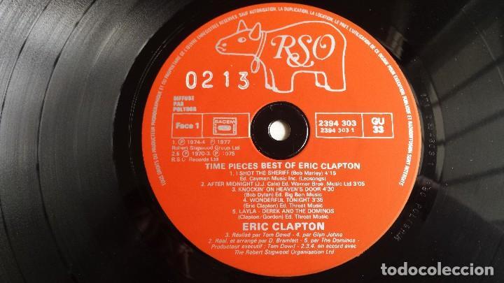 Discos de vinilo: LP ERIC CLAPTON: THE BEST OF ERIC CLAPTON - Foto 4 - 110775391