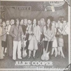 Discos de vinilo - ALICE COOPER – GREATEST HITS – LP VINILO - 110777919