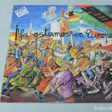 Discos de vinilo: SPEED - YA ESTAMOS EN EUROPA 12'' SPAIN 1986. Lote 110781499