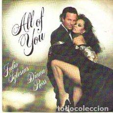Discos de vinilo: DISCOS (JULIO IGLESIAS & DIANA ROSS). Lote 110781875