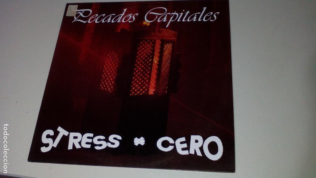 STRESS CERO - PECADOS CAPITALES - RARO (Música - Discos - LP Vinilo - Grupos Españoles de los 70 y 80)