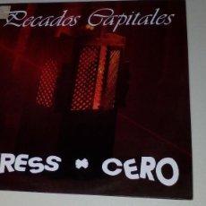Discos de vinilo: STRESS CERO - PECADOS CAPITALES - RARO. Lote 110783215