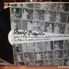 Discos de vinilo: DAVID BOWIE ASHES TO ASHES /SPACE ODDITY MXMINILP SPAIN 1987 PEPETO TOP. Lote 110787071