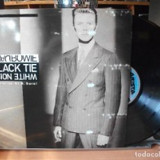 Discos de vinilo: DAVID BOWIE BLACK TIE WHITE NOISE MAXI SPAIN 1993 PEPETO TOP . Lote 110787263