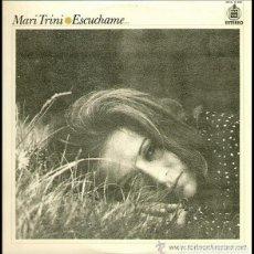 Vinyl-Schallplatten - MARI TRINI- ESCUCHAME, LP SPAIN 1971 - 110787979