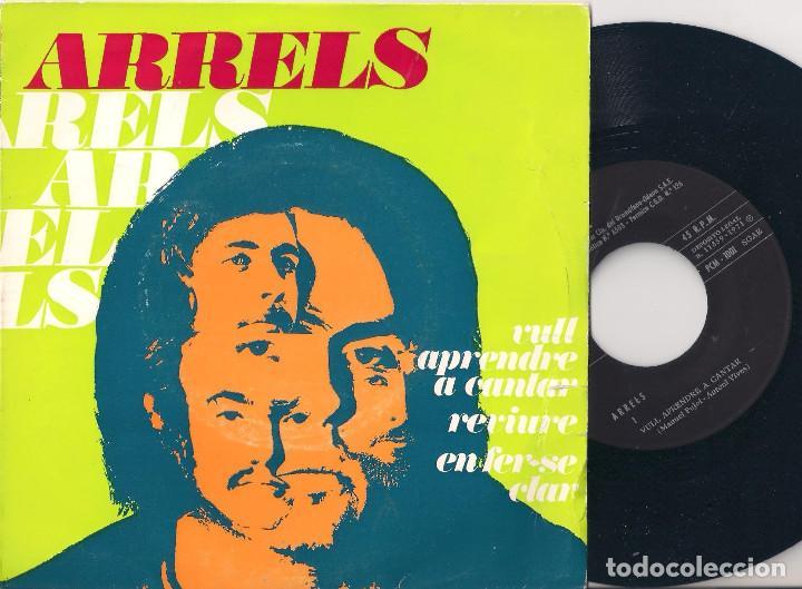 ARRELS - VULL APENDRE A CANTAR/REVIURE/EN FER-SE CLAR - EP - EDIGSA 1971 - PCM 1001 (Música - Discos de Vinilo - EPs - Grupos Españoles de los 70 y 80)