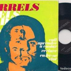 Discos de vinilo: ARRELS - VULL APENDRE A CANTAR/REVIURE/EN FER-SE CLAR - EP - EDIGSA 1971 - PCM 1001. Lote 110790031