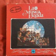 Discos de vinilo: LA MÚSICA ELEGIR, EL JAZZ, CONTIENE CUATRO VINILOS.. Lote 110807151