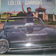 Discos de vinilo: LOLITA GARRIDO - SAVOR A NADA +3 1965 FONOPOLIS. Lote 110815799