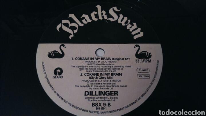 Discos de vinilo: DILLINGER. COKANE. MAXI SINGLE - Foto 3 - 110821472