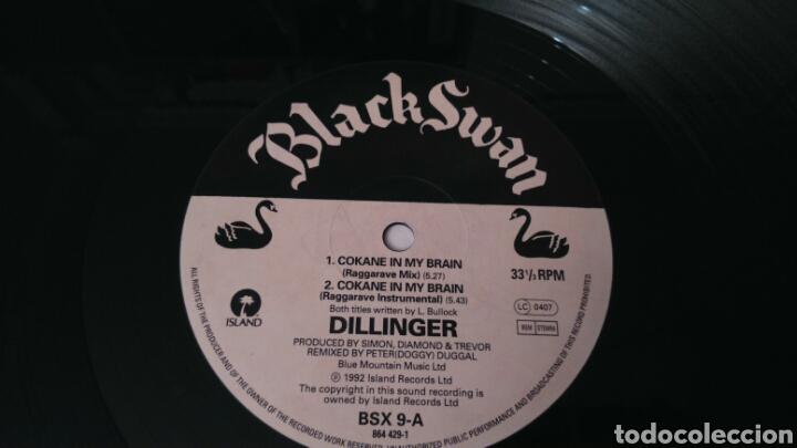 Discos de vinilo: DILLINGER. COKANE. MAXI SINGLE - Foto 4 - 110821472