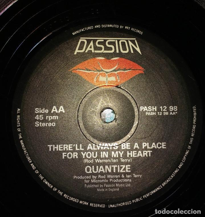 Discos de vinilo: Quantize ‎– Stop! In The Name Of Love / Therell Always Be A Place For You In My Heart - Foto 3 - 110827783
