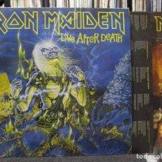 Discos de vinilo: IRON MAIDEN - LIVE AFTER DEATH 2XLP 1985 SPAIN. Lote 110830715