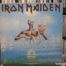 Discos de vinilo: IRON MAIDEN - SEVENTH SON OF A SEVENTH SON (LP, ALBUM) . Lote 110830811