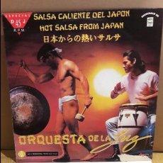 Discos de vinilo: ORQUESTA DE LA LUZ / SALSA CALIENTE DEL JAPÓN / MAXI SG-PROMO / BAT RECORDS / MBC. ***/***. Lote 110879883