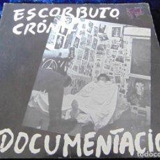 Discos de vinilo: ESCORBUTO CRÓNICO – DOCUMENTACIÓN - SINGLE ORIGINAL JAJA RECORDS 1982. Lote 110884631