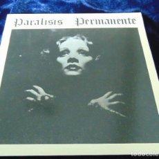Discos de vinilo: PARALISIS PERMANENTE - NACIDOS PARA DOMINAR / SANGRE - SINGLE CON ENCARTE. Lote 110884675