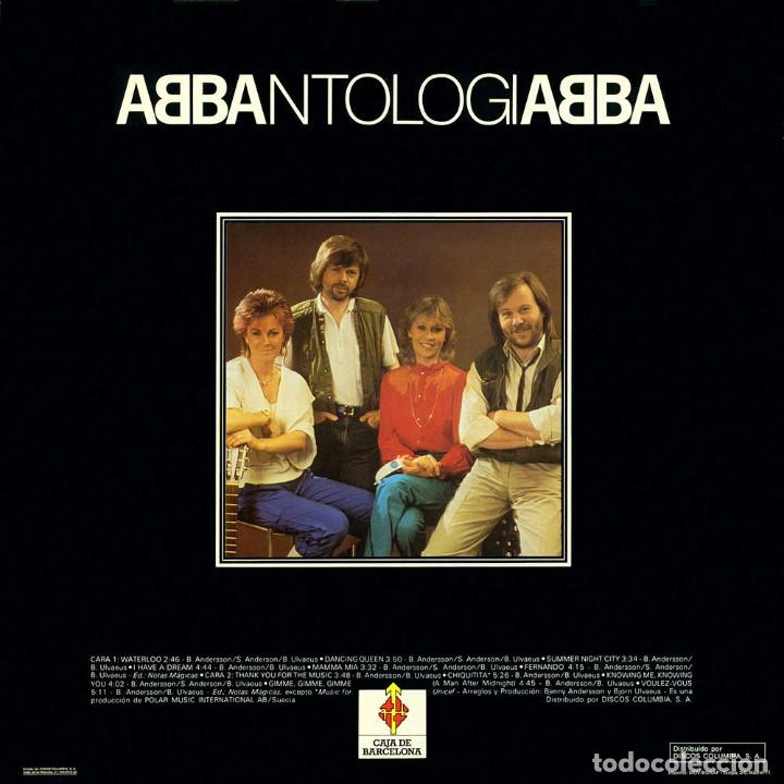 ANTOLOGIA ABBA (Música - Discos - Singles Vinilo - Pop - Rock Extranjero de los 90 a la actualidad)