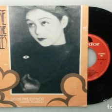 Discos de vinilo: DISCO SINGLE SIOUXSIE AND THE BANSHEES DEAR PRUDENCE. 1983. Lote 110894587
