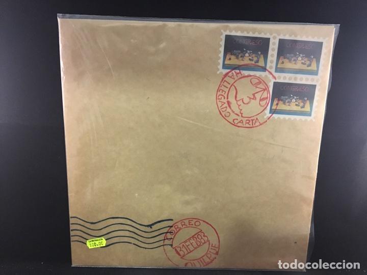 CONGRESO - HA LLEGADO CARTA - LP PRIMERA EDICIÓN CHILE PROG ROCK JAZZ (Music - Vinyl-Schallplatten - LP - Gruppen und Solisten aus Lateinamerika)