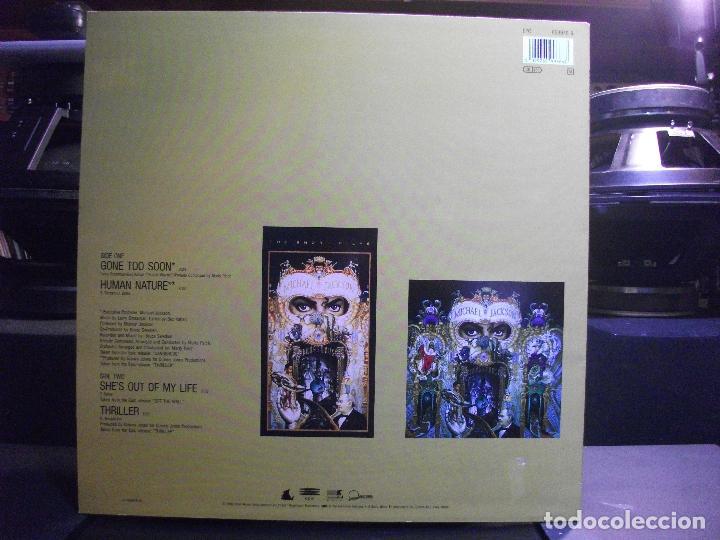 Discos de vinilo: MICHAEL JACKSON GONE TOO SOON MAXI HOLANDA 1993 PEPETO TOP - Foto 2 - 110911539