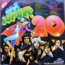 Discos de vinilo: LOS SUPER 20. Lote 110911559