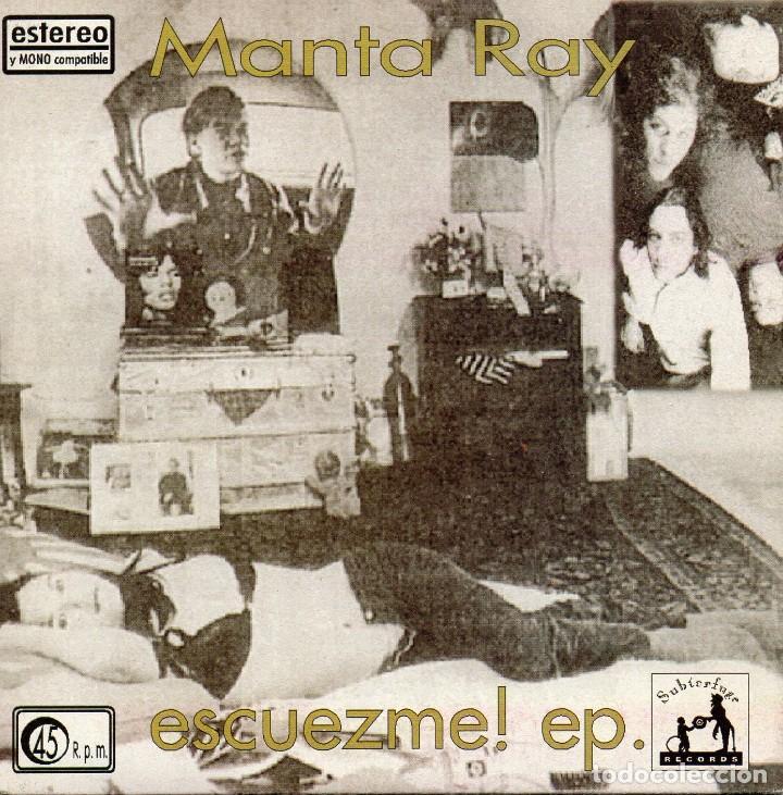 MANTA RAY - ESCUEZME!, EP, GOD FORCED ME TO RAPE YOU + 3, AÑO 1994 (Música - Discos de Vinilo - EPs - Grupos Españoles de los 90 a la actualidad)