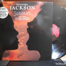 Discos de vinilo: MICHAEL JACKSON SCREAM MAXI EUROPE 1995 PEPETO TOP . Lote 110912739