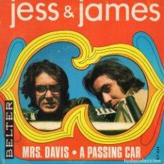 Discos de vinilo: JESS & JAMES, SG, MRS. DAVIS + 1, AÑO 1969. Lote 110912783