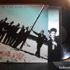 Discos de vinilo: FURY IN THE SLAUGHTERHOUSE SECONDS TO FALL LP HOLANDA 1992 PEPETO TOP . Lote 142254410