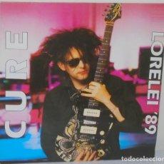 Discos de vinilo: THE CURE - LORELEI 89 ENGLAND - UNOFFICIAL X RAY 1990. Lote 110914119