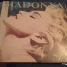 Discos de vinilo: LP MADONNA . TRUE BLUE. SIRE 1986.. Lote 110914779