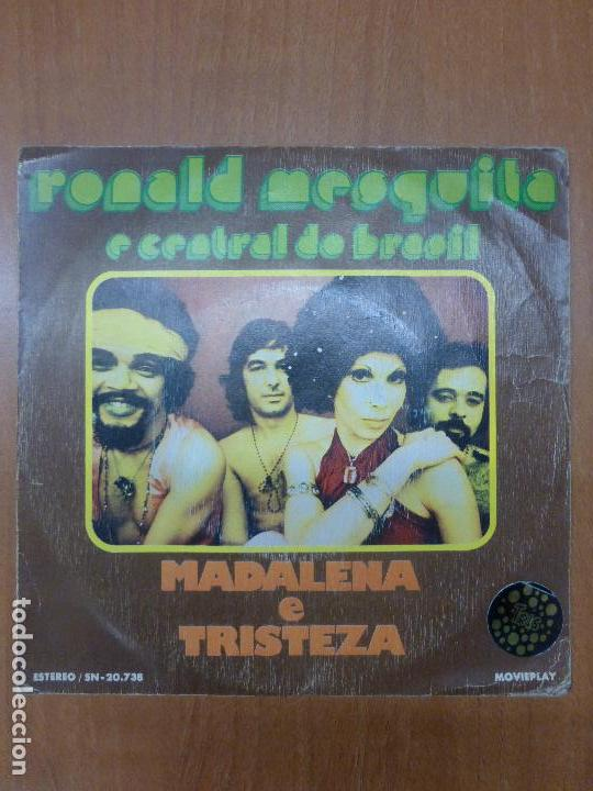 RONALD MESQUITA E CENTRAL DO BRASIL - MADALENA / TRISTEZA SINGLE 1973 - BOSSA LATIN SOUL (Música - Discos - Singles Vinilo - Jazz, Jazz-Rock, Blues y R&B)