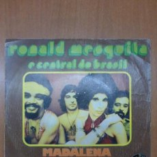 Discos de vinilo: RONALD MESQUITA E CENTRAL DO BRASIL - MADALENA / TRISTEZA SINGLE 1973 - BOSSA LATIN SOUL. Lote 110949375