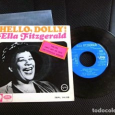 Discos de vinilo: ELLA FITGERALD VERSION BEATLES SINGLE EP ESPAÑA ORIGINAL AÑOS 60. Lote 110953935