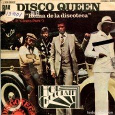 Discos de vinilo: HOT CHOCOLATE / REINA DE LA DISCOTECA / YOU'RE A NATURAL (SINGLE 1975). Lote 110962067