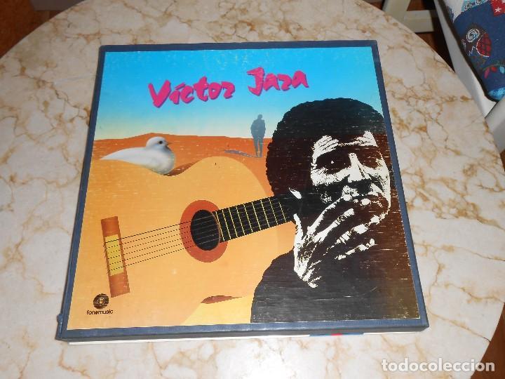 VÍCTOR JARA CAJA CONTENIENDO 5 LP,S FONOMUSIC (Música - Discos de Vinilo - Maxi Singles - Cantautores Extranjeros)