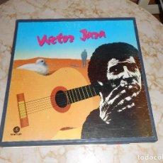 Discos de vinilo: VÍCTOR JARA CAJA CONTENIENDO 5 LP,S FONOMUSIC. Lote 110962139