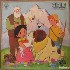 Discos de vinilo: HEIDI – HEIDI (HISTORIA COMPLETA) - CBS 1975 - LP - L -. Lote 110963235
