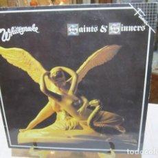 Discos de vinilo: DISCO DE VINILO WHITESNAKE - SAINTS & SINNERS.. Lote 110964719