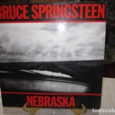Discos de vinilo: DISCO DE VINILO BRUCE SPRINGTEEN - NEBRASKA -. Lote 110965515