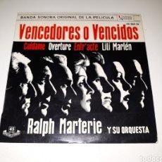 Discos de vinilo: RALPH MARTERIE- BSO VENCEDORES O VENCIDOS- UNITED ARTITS 1962 ESPAÑA 6. Lote 110966064