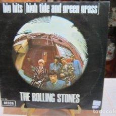 Discos de vinilo: DISCO DE VINILO - LP - THE ROLLING STONES - BIG HIS - HIGH TIDE AND GREEN GRASS -. Lote 110966447