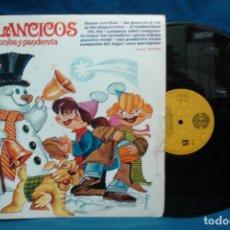 Discos de vinilo: - VILLANCICOS CON ZAMBOMBA Y PANDERETA - VL. 2 - MOVIEGRAF 1979. Lote 110991139